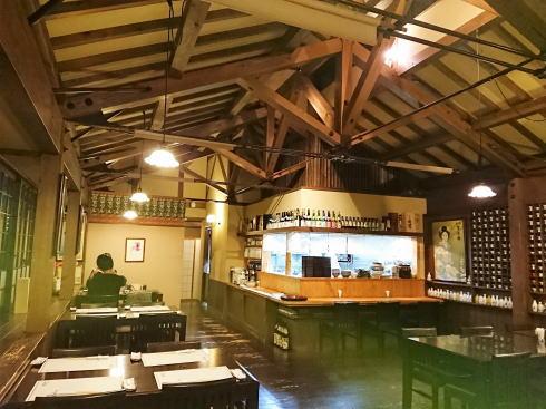 東広島市 佛蘭西屋(ふらんすや)2階和食の店内の様子