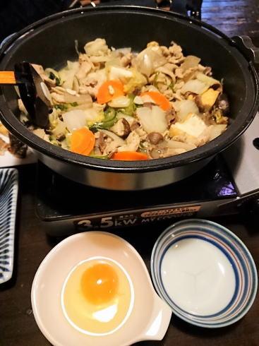 東広島市 佛蘭西屋(ふらんすや)美酒鍋の食べ方