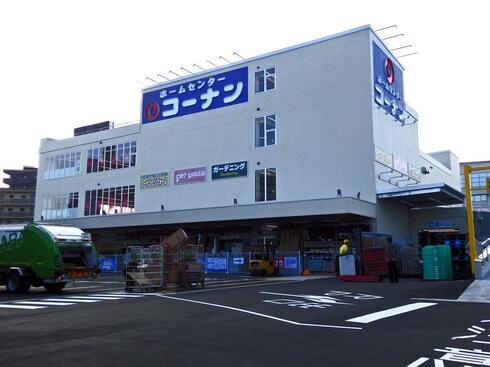 コーナン 広島皆実町店オープン、無料DIYスペースや初登場の体験型ペットショップも