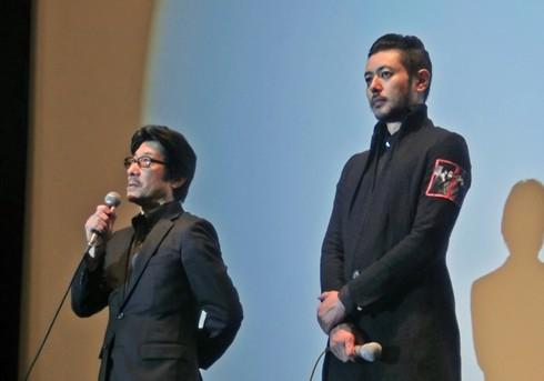 映画エルネスト 広島での舞台挨拶」