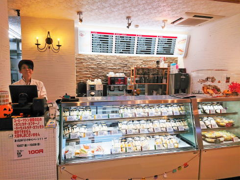 東広島市 フレスコ サンドカフェ 店内の様子