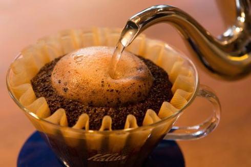 コーヒーの淹れ方、道の駅世羅で学ぶ