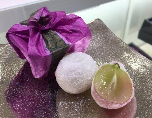 共楽堂 ひとつぶの紫苑、広島駅で季節の旬のおみやげ選び