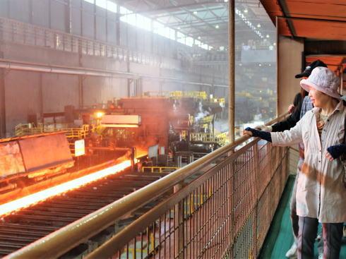 JFE 世界最大の製鉄所で冬休み工場見学会!
