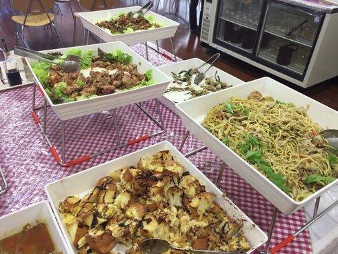 東広島市役所・展望ロビー食堂の様子