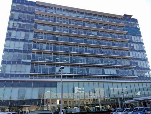 東広島市役所の新庁舎
