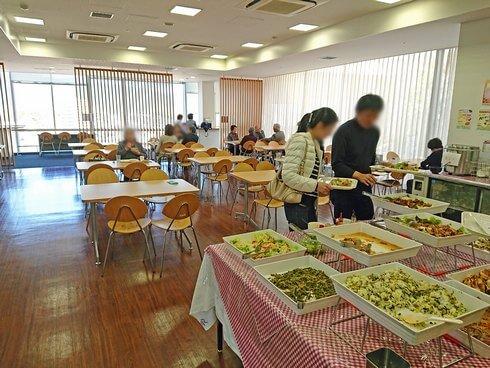 東広島市役所・展望ロビー食堂でランチ