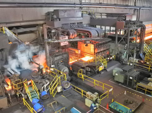 JFE福山工場見学会 圧延機工場の様子4