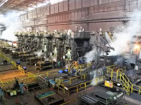 JFE福山工場見学会 熱延機工場の様子3