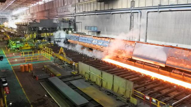 JFE福山工場見学会 熱延機工場の様子
