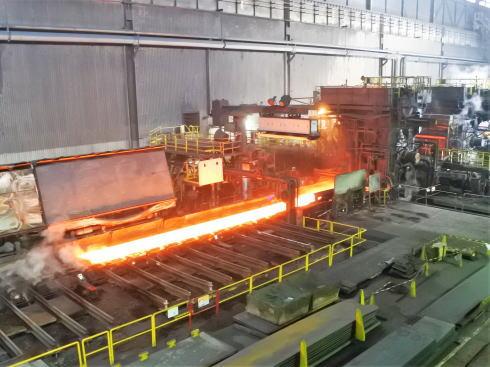 JFE福山工場見学会 熱延機工場の様子2