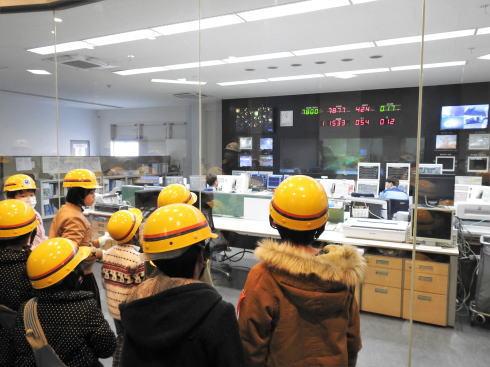 JFE福山工場見学会 高炉の管理室