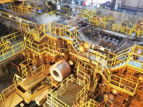 JFE福山工場見学会 圧延機工場の様子6