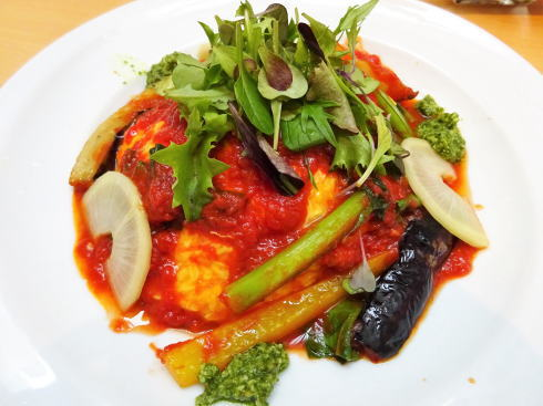 宇品 ラソラ イタリアンレストラン オムライスの写真