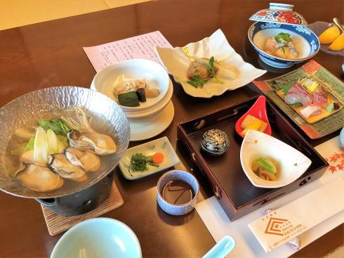 宮浜グランドホテル 日帰り会食プラン 料理写真