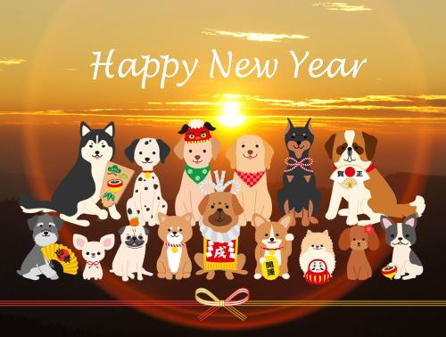 明けましておめでとうございます!2018年も宜しくお願いします