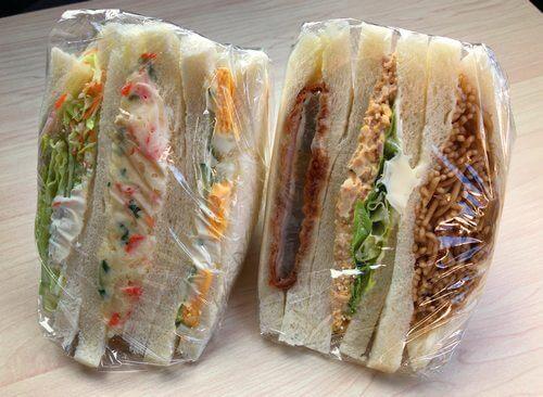 竹原市 サンドイッチせと ポテトサンドとミックスサンド