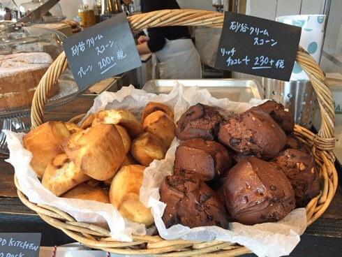 井口の焼き菓子店、スウィンギングバードキッチンのマフィンやスコーン