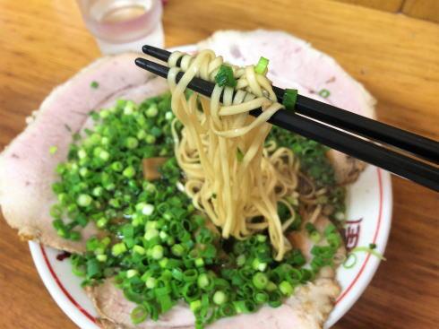 竹原市 太華園 チャーシュー麺