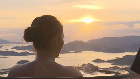 ケンコバ番頭「露天風呂トラックの旅2」三原・筆影山