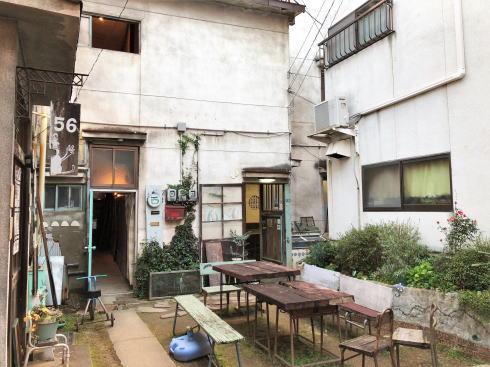 尾道 ゴロカフェバー(56cafe/bar)外観