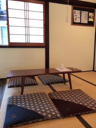 宮島のジェラート店 バッカーノ 二階の様子3