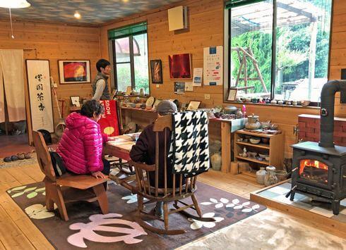 大崎上島のカフェ 珈琲 陶の雰囲気