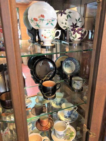 大崎上島のカフェ 珈琲 陶 選べるコーヒーカップ2