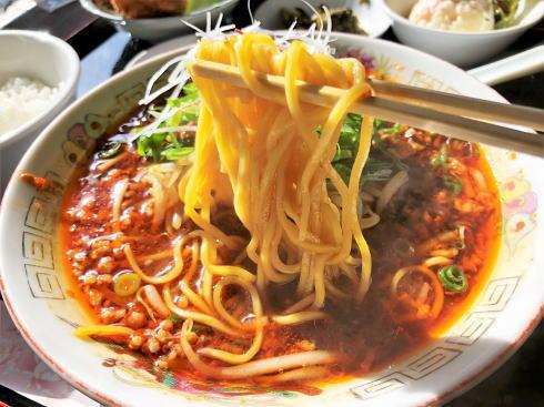福山 チャイナレストラン 茶花 台湾ラーメンセット2