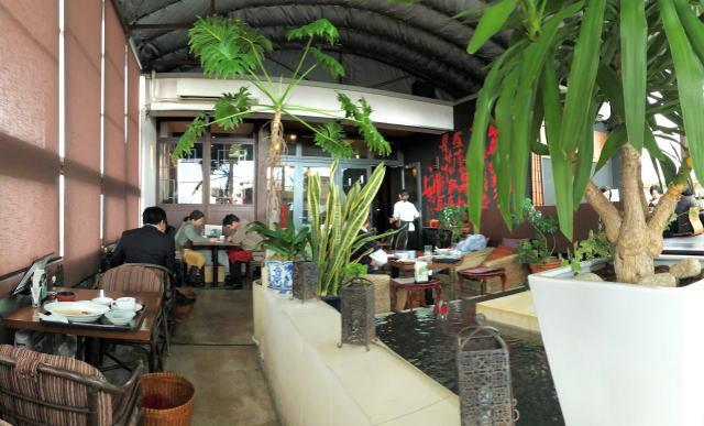 福山 チャイナレストラン 茶花 店内の様子3