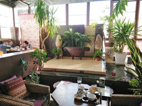 福山 チャイナレストラン 茶花 店内の様子