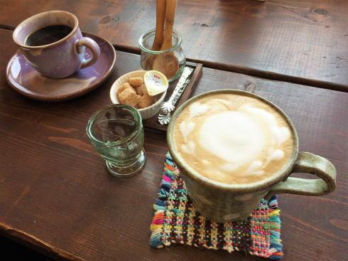 西条 n cafe コーヒーを注文