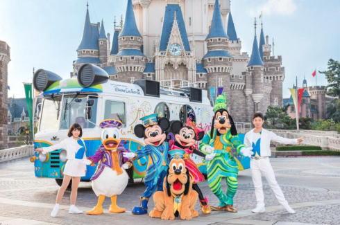 ディズニーパレードが全国のお祭りにやってくる!広島はフラワーフェスティバルに