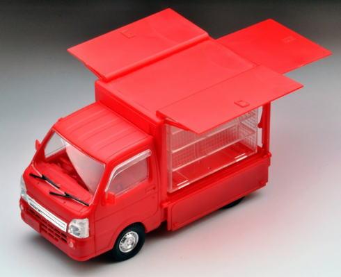 カープトラックのプラモデル
