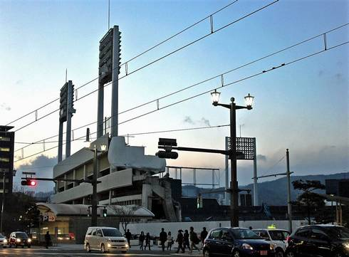 旧広島市民球場跡地 03
