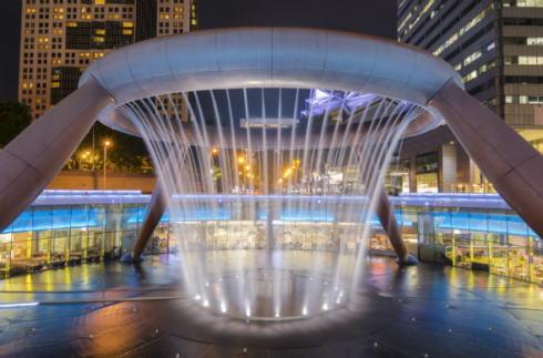 シンガポールのパワースポット、富の噴水