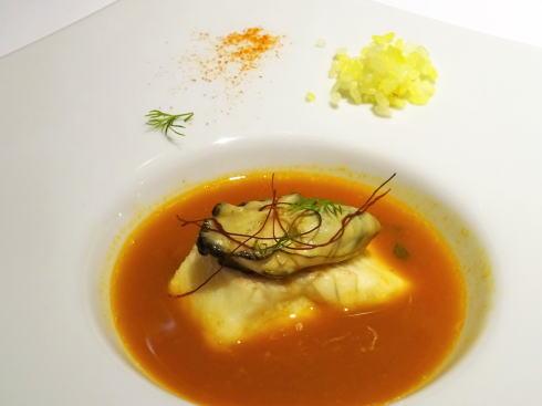 庄原市 フレンチ ラアレーズ 魚料理