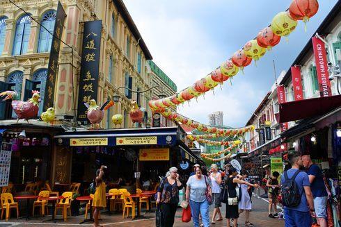 シンガポールのチャイナタウン