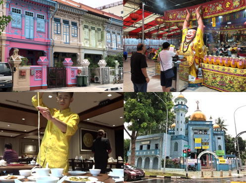 シンガポールは街歩きが楽しい