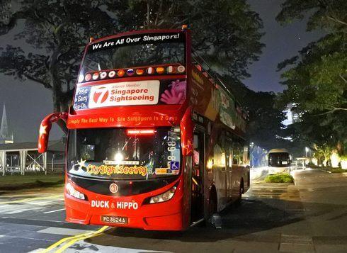 夜景バスツアー