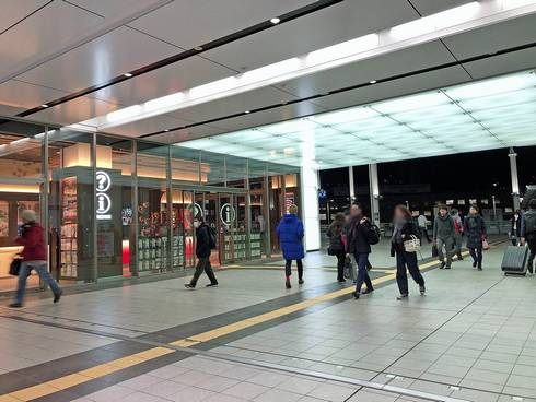 広島市観光案内所は広島駅2Fにあり