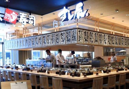 広島駅 エキエ ダイニング 回転寿司