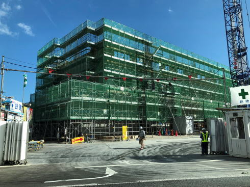 グランヴィリオホテル宮島 和蔵 建設中の様子2019.9