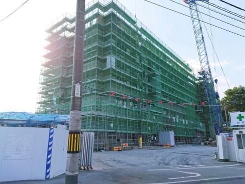 グランヴィリオホテル宮島口 和蔵の宿 建設中の様子2019.11