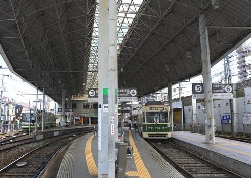 広電西広島駅と隣接する ひろでん会館が閉館