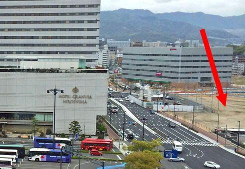 広島駅北口、広島テレビの新社屋建設地