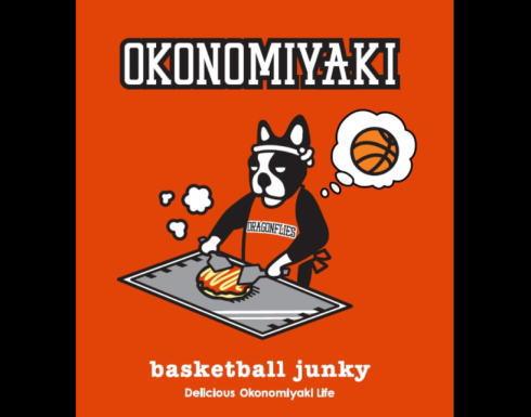 バスケットボールジャンキー×広島ドラゴンフライズTシャツがかわいい