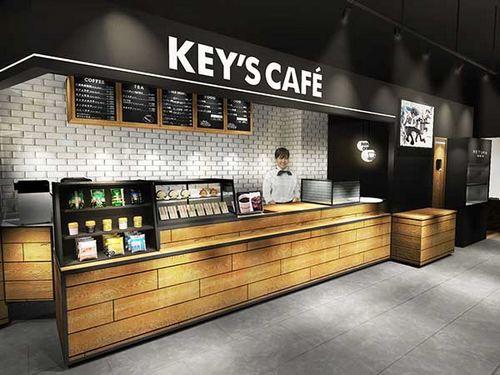 キーズカフェ 広島初出店!キーコーヒーのコーヒーソフトクリームも