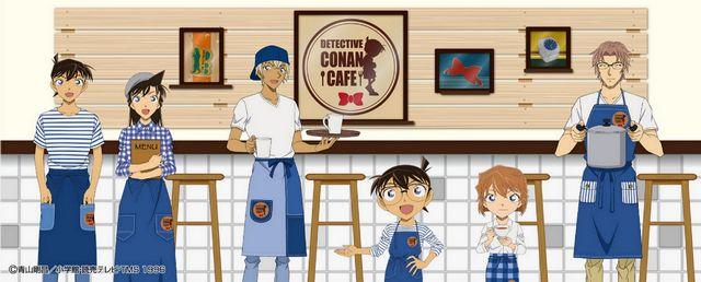 名探偵コナンカフェ 2018、そごう広島で開催