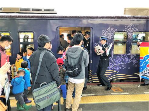 観光列車〇〇のはなし 列車の写真